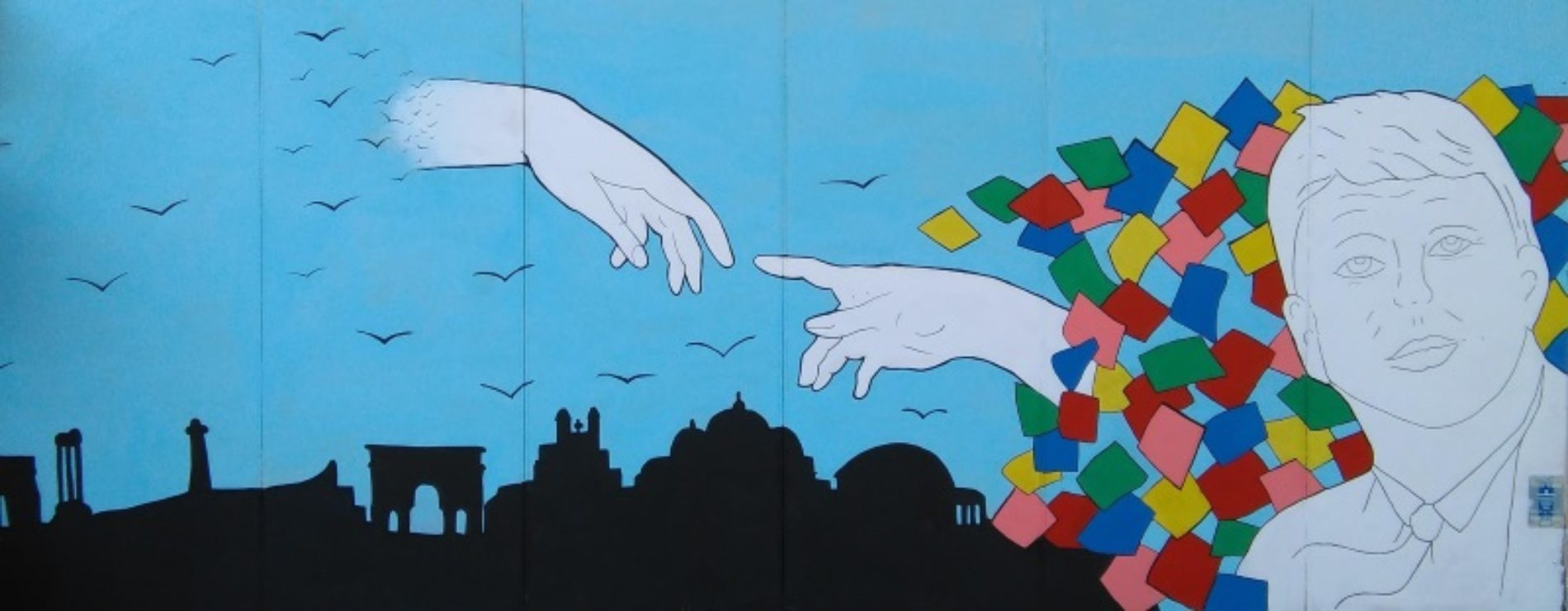 """""""Street Art"""" a scuola: realizzazione del mural"""