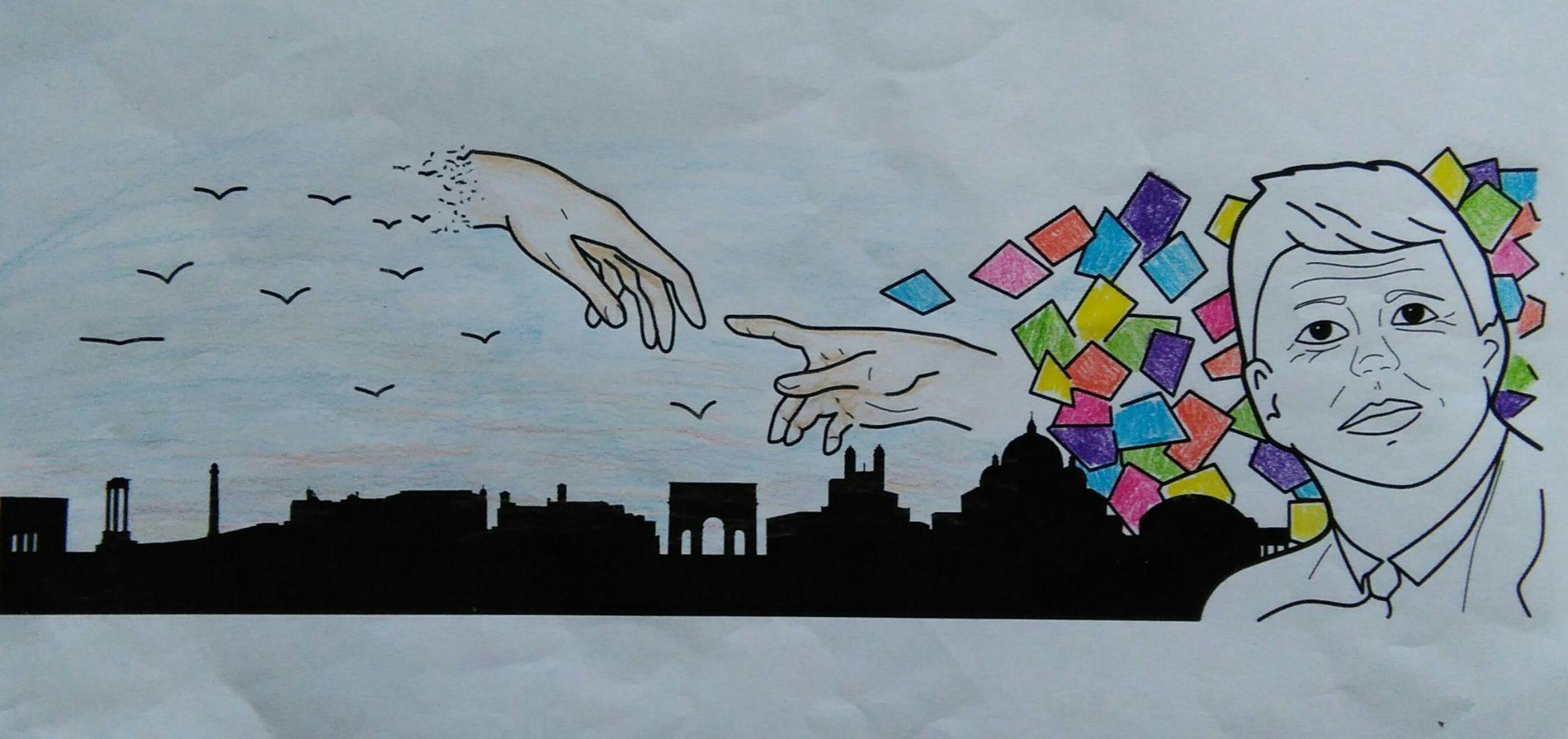 """I bozzetti vincitori del concorso """"Street Art a scuola"""""""