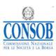 PCTO Ed. FInanziaria presso CONSOB (17-21 febbraio 2020) classi III, IV e V