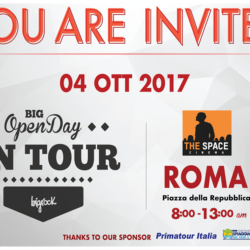 Big OpenDay on tour a Roma