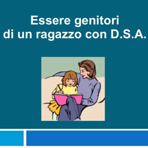 """Incontro genitori alunni con DSA con il Dott. Enrico D'Adamo (""""Percorsi Evolutivi"""")"""