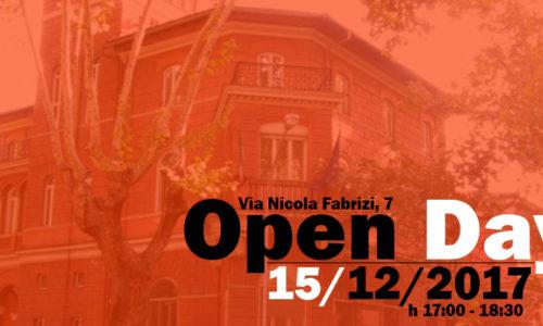 Open Day 15 dicembre 2017