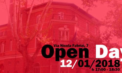 Open Day 12 gennaio 2018