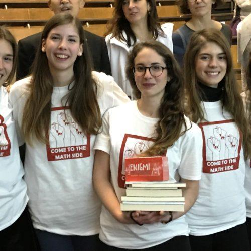 Olimpiadi della Matematica a Squadre Femminili: siamo in finale!