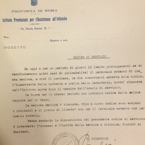 MESTIERE DELLO STORICO: CALENDARIO ATTIVITA' APRILE-MAGGIO