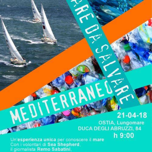 Earth Day 2018: lezione di ambientalismo in barca a vela per gli studenti  del Liceo Kennedy  di Roma.