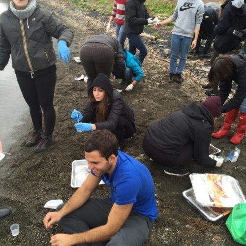 Studenti del liceo Kennedy di Roma ricercatori al lago di Bracciano