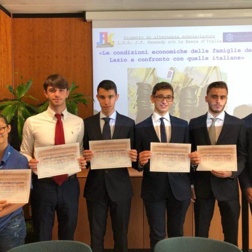ASL presso la Banca d'Italia: giornata conclusiva e pubblicazione lavoro svolto