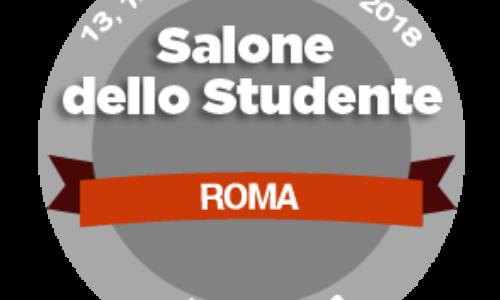 Il Salone dello Studente a Roma il 13, 14 e 15 novembre