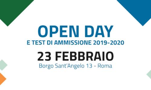 Open Day – LUMSA – 23 febbraio