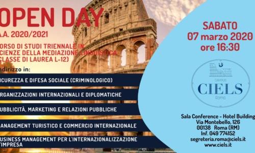 AGGIORNAMENTO: Scuola Superiore Universitaria per Mediatori Linguistici – CIELS sede di Roma
