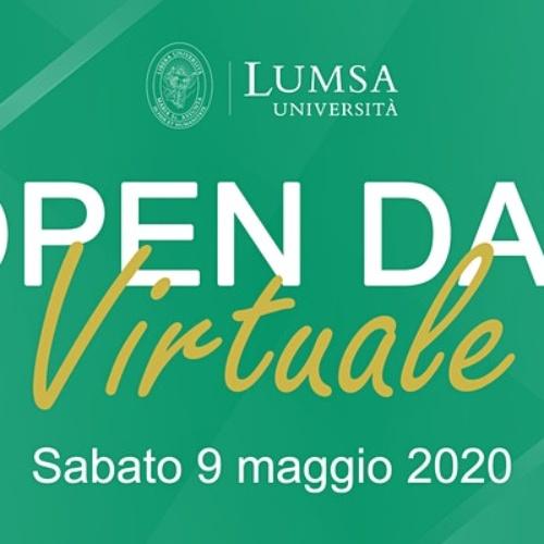 Università di Roma LUMSA – Open Day Virtuale, Sabato 9 maggio 2020 – ore 10.00